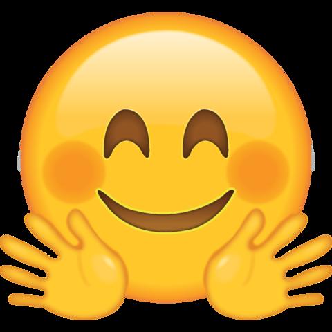 Hugging Emoji Png