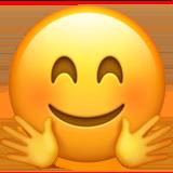Hugging Face Emoji on Apple iOS 102