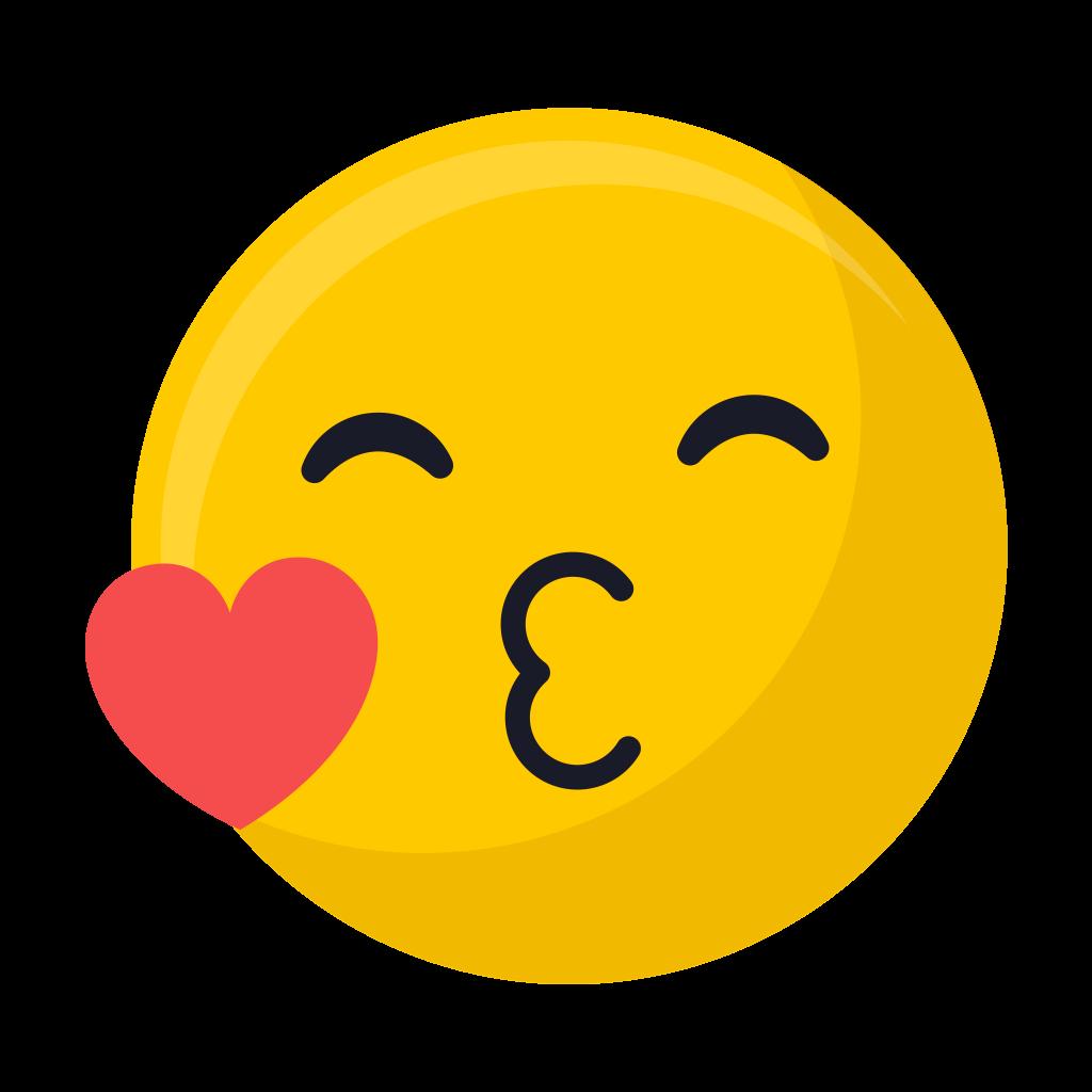 Kiss Emoji PNG Image Free Download searchpngcom