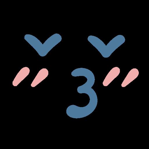 Emoji emoticon heart kiss icon  Free download