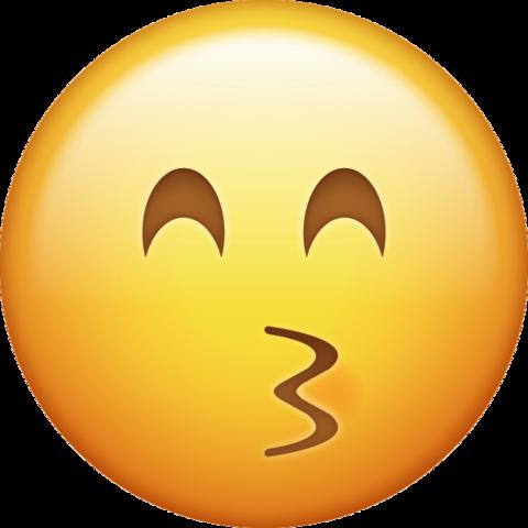 Kissing Emoji Png Transparent Background 2