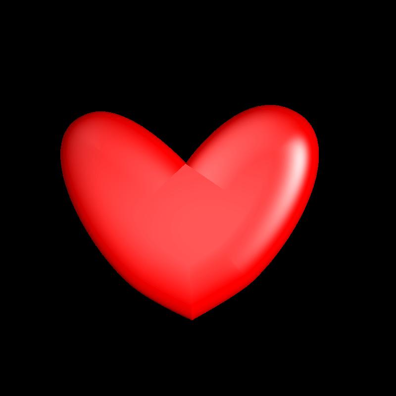 Red Heart Outline Clipart  Clip Art Bay  Heart clip art