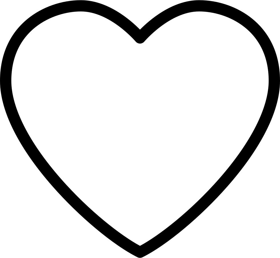 20+ Ide Transparent Background Heart Shape Png Images ... - Heart Outline Emoji