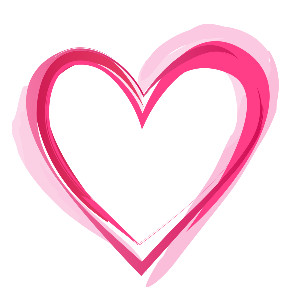 Heart PNG Images Outline Emoji Pink And Red Heart