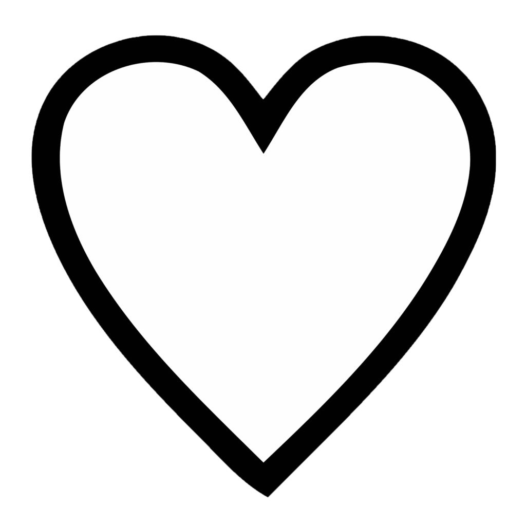 Free Simple Heart Outline Download Free Clip Art Free