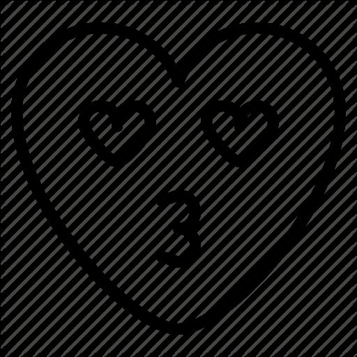 Best Templates Heart Outline Emoji