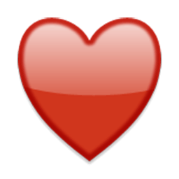 Black Heart Suit Emoji for Facebook Email  SMS  ID