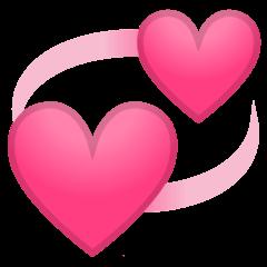Revolving Hearts Emoji  Meaning Copy  Paste