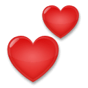Two Hearts Emoji  Meaning Copy  Paste
