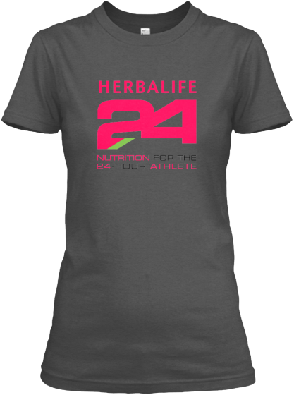Awesome PINK Herbalife 24 Logo Tees  Herbalife 24