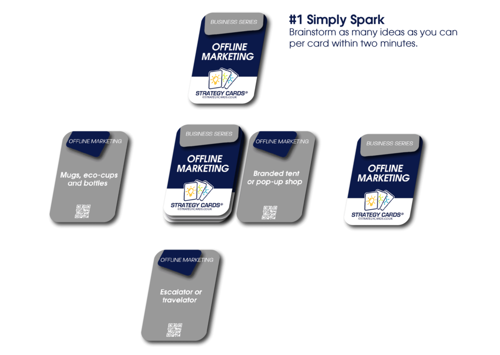 Offline Marketing Strategy Cards  Strategy Cards