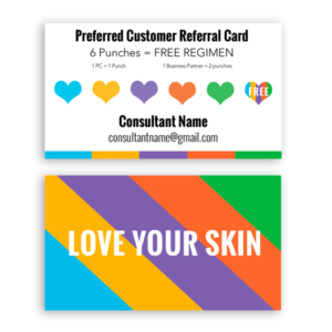 Skincare Business Cards Archives  ITW Visions