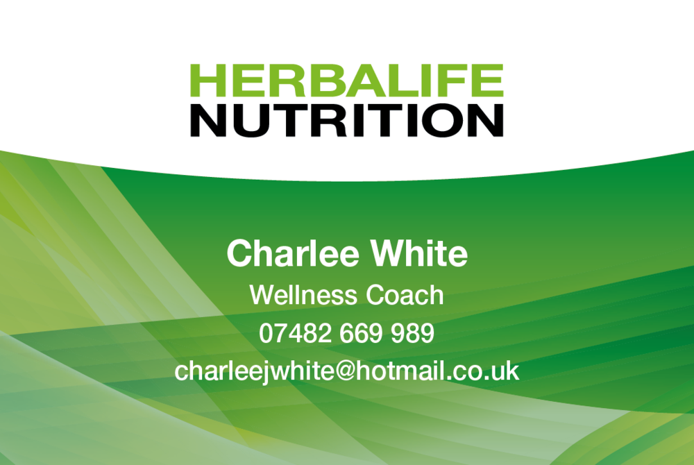 Herbalife Nutrition Business Cards  Health and