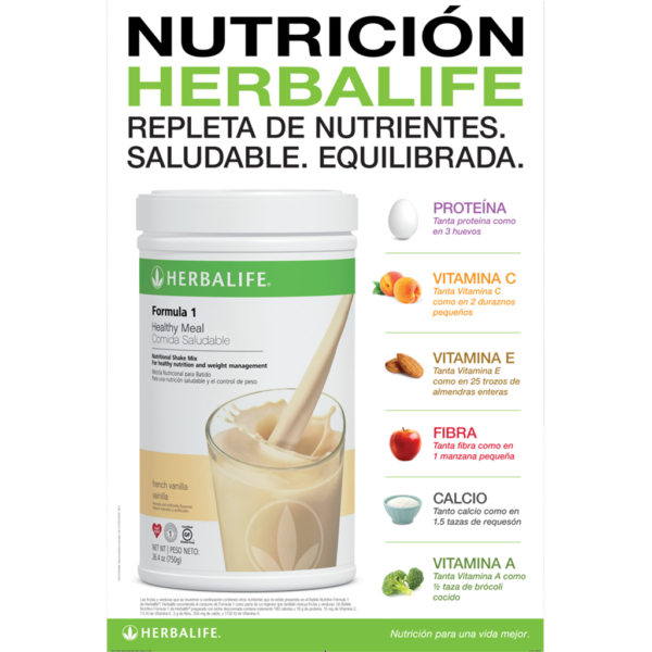 Nutricion Herbalife Poster  Instant Signs  Prints Store