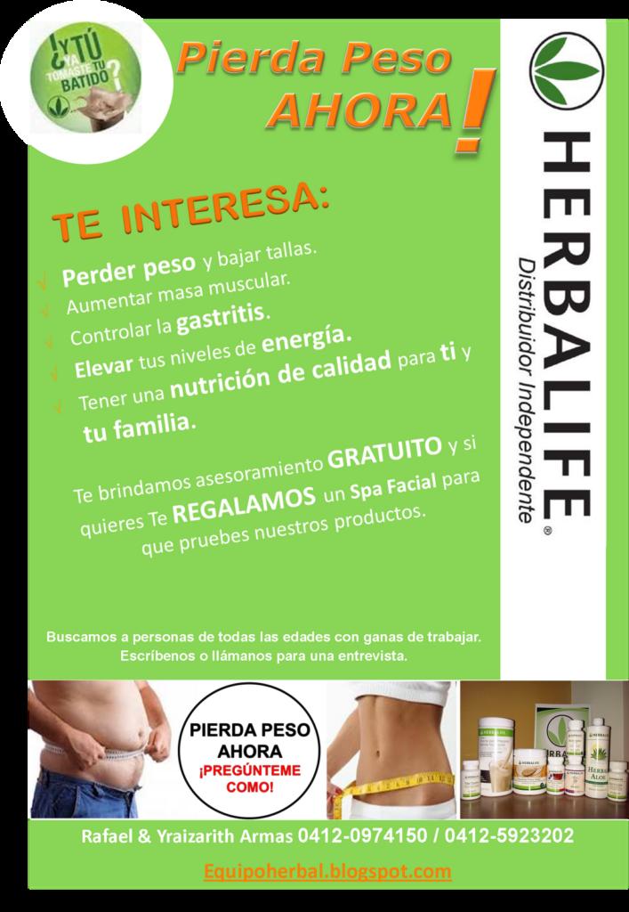 Equipo Herbal Herbalife Distribuidor Independiente Pierda