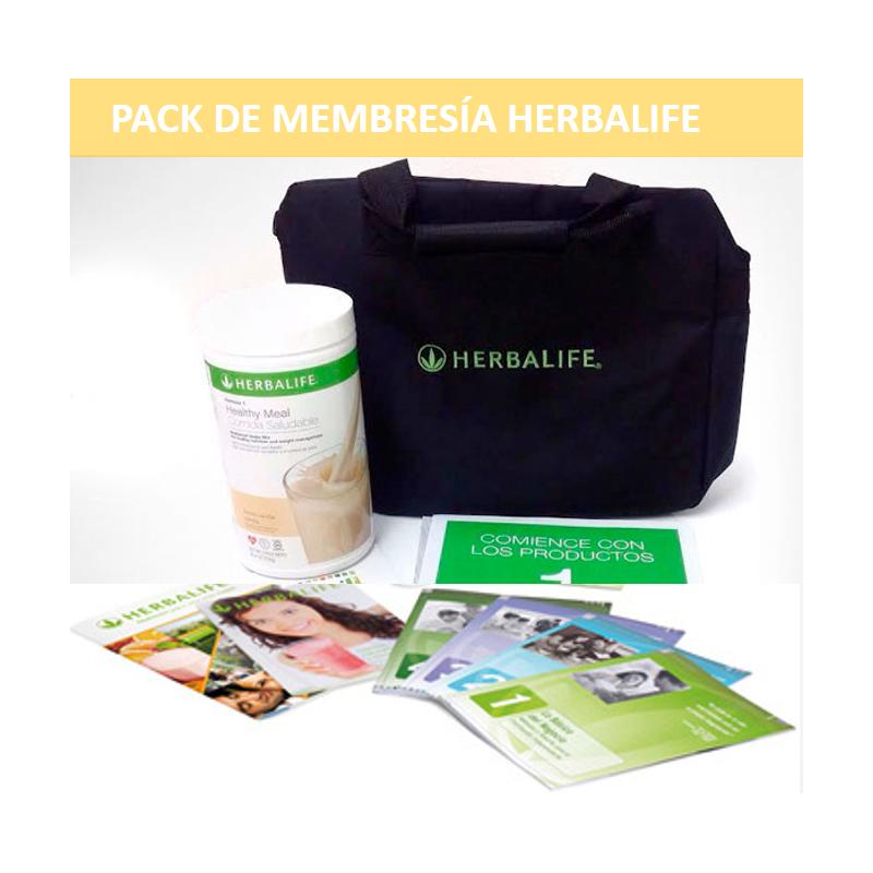 Pack Membresía Herbalife  Para Beneficios Exclusivos