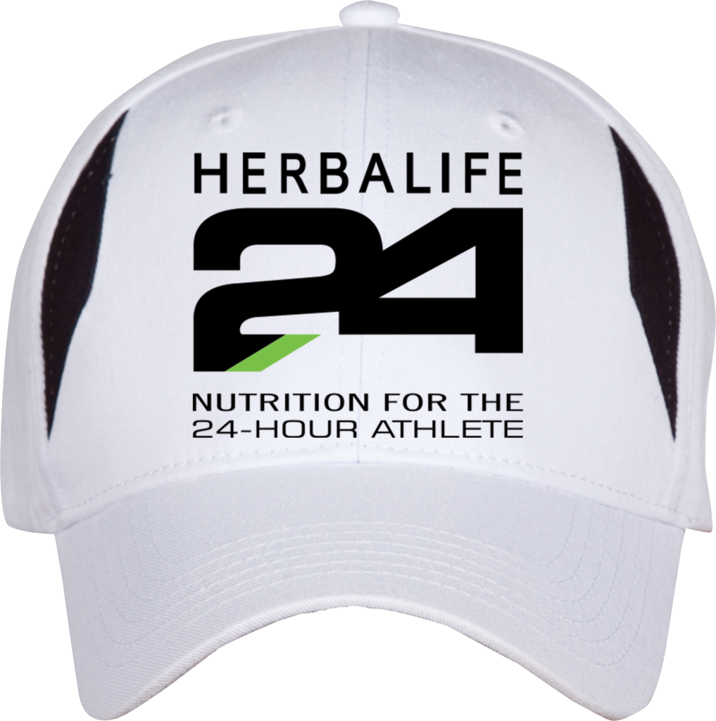 Make your cap your billboard 24 Hours Athlete