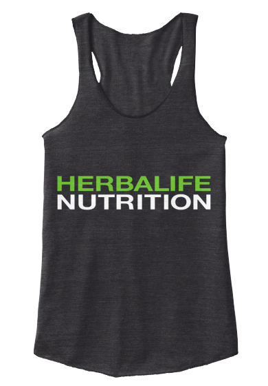 Simple but effective Herbalife shirts available in