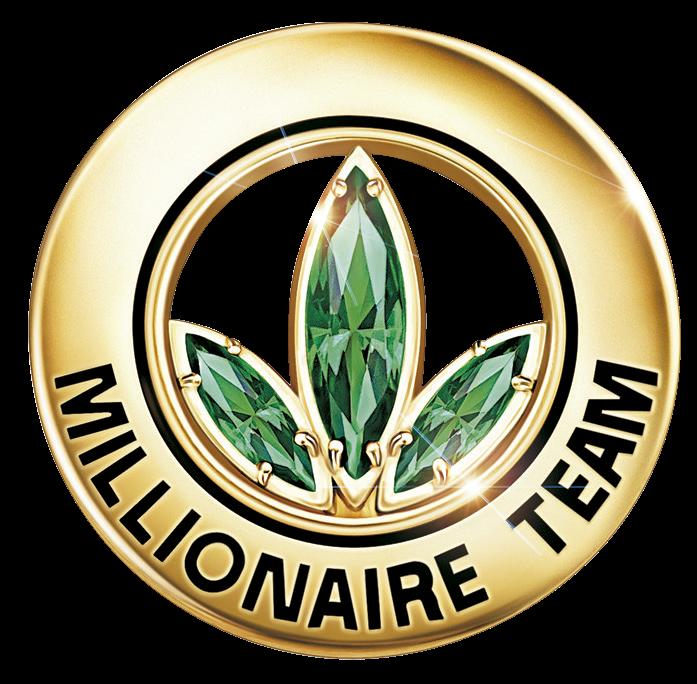 millonario herbalife pin