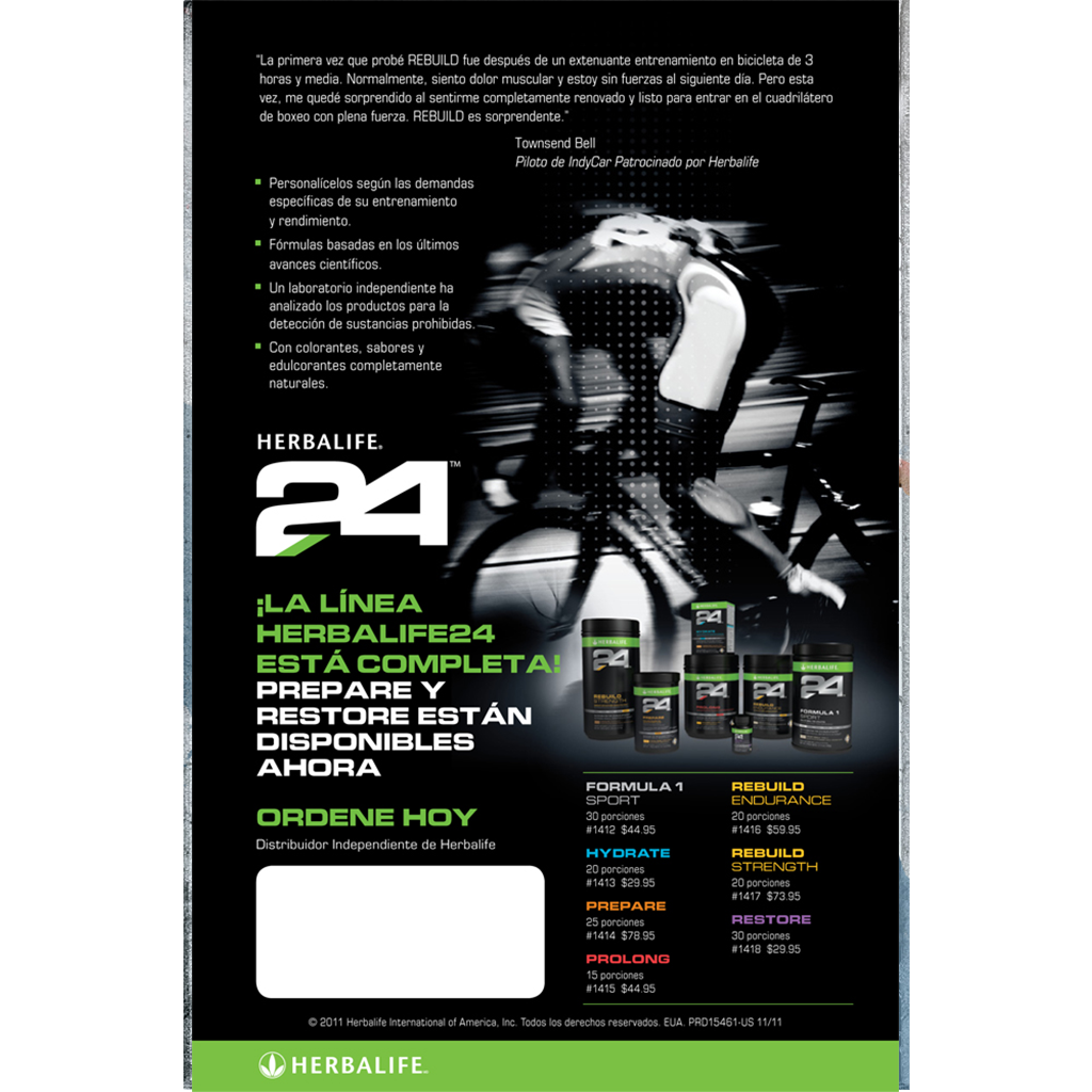 Herbalife24 Poster FREE SHIPPING  Instant Signs