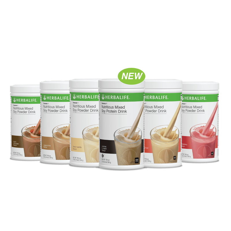 Herbalife Formula 1 Nutritious Mixed Soy Powder Drink