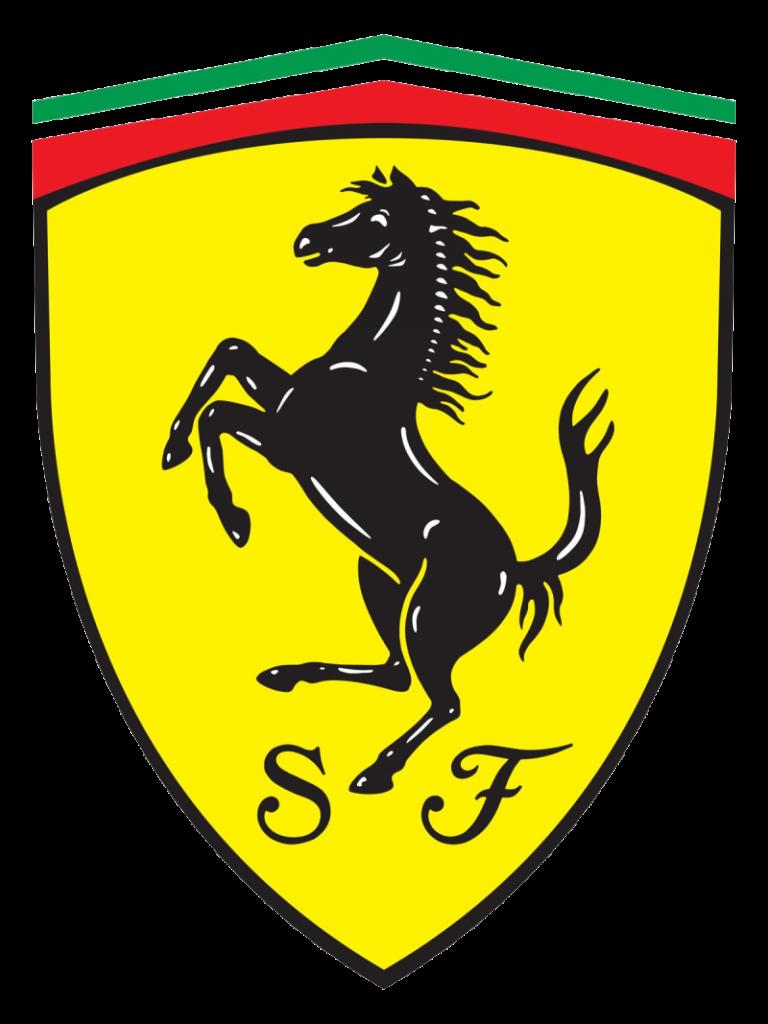 Transparent Background High Resolution Ferrari Logo Png