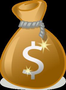 Money Bag Clip Art at Clkercom  vector clip art online