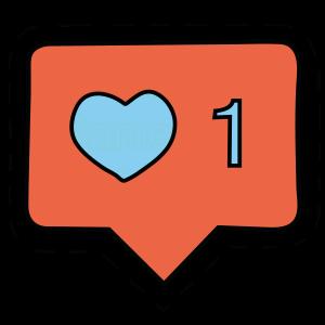 instagram heart like tumblr emoji