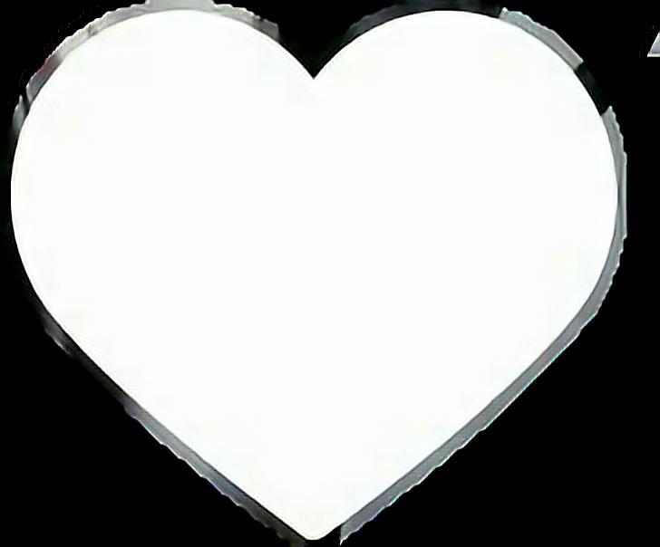 heart white instagram Double tap  Sticker by mof