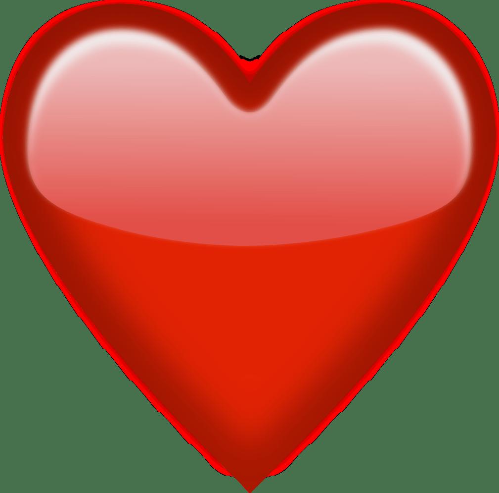 Heart Emoji Shine