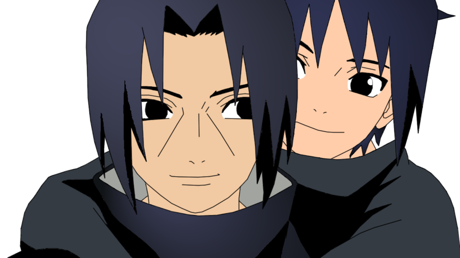 ItaSasu Colored  Brothers I by SRKAddict on deviantART