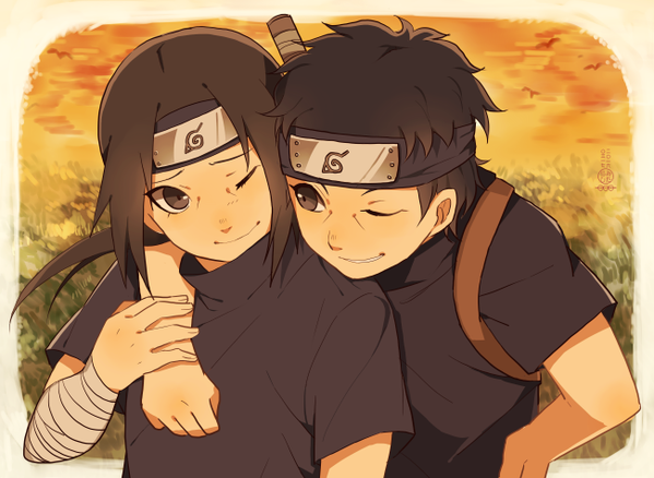 You can always lean on me bro Sishui and Itachi  The