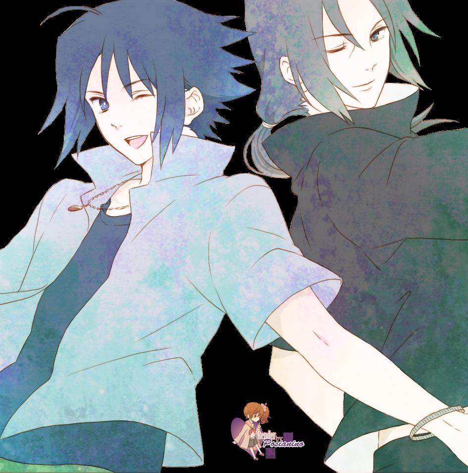 Transparent Souls Uchiha brothers Naruto