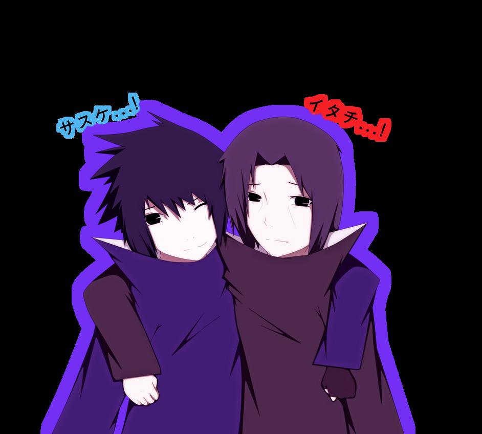 Itachi and Sasuke  Brothers  by Reochii on DeviantArt