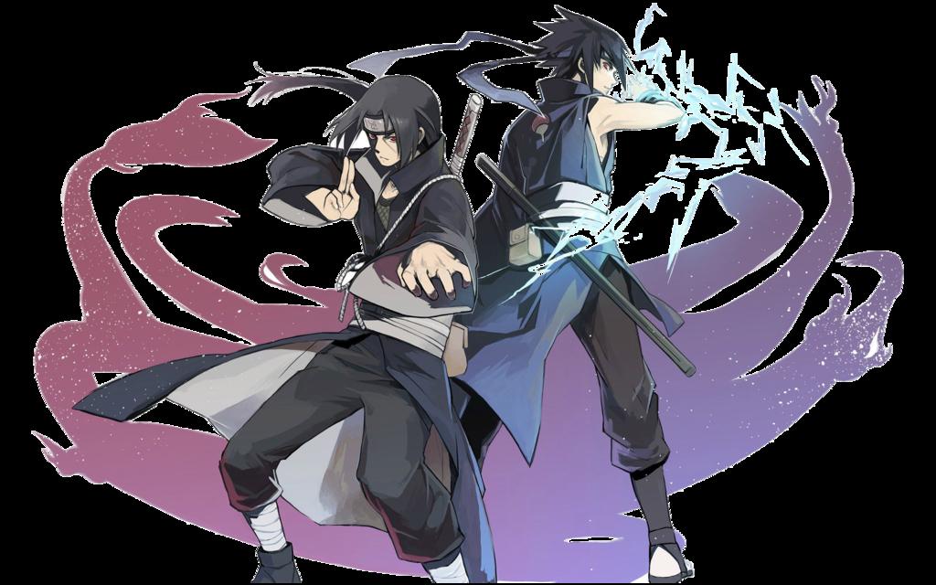 Uchiha brothers in Arms Render by OdinAnimation  Sasuke