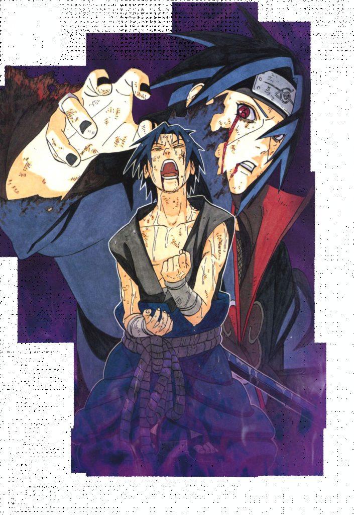 Itachi  Sasuke  Naruto Shippuden  Anime  Manga