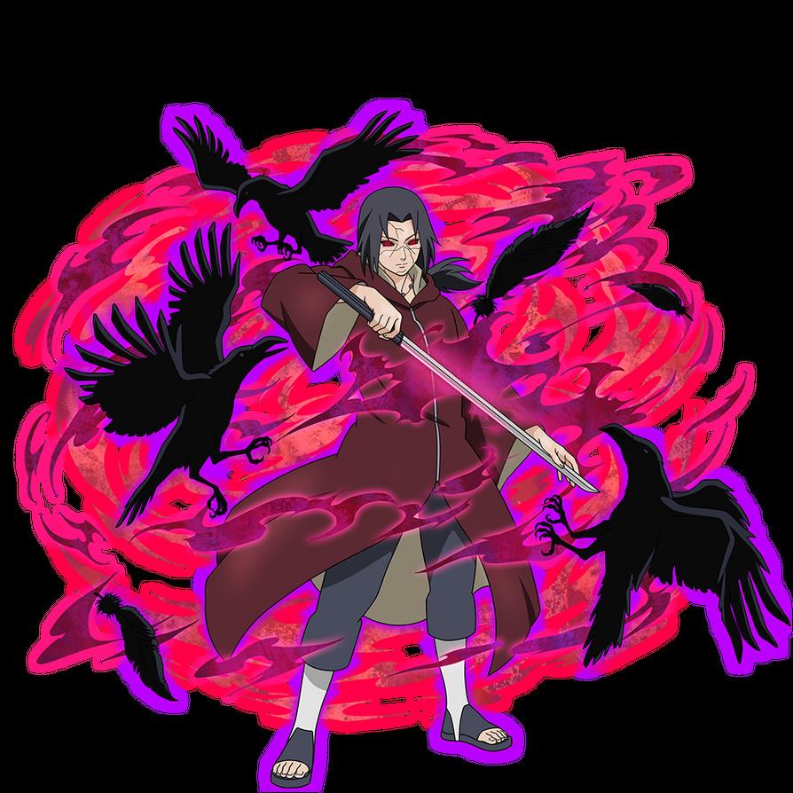 Edo Itachi render Ultimate Ninja Blazing by maxiuchiha22