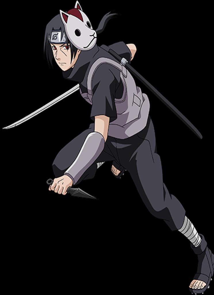 Uchiha Itachi  Anbu  Bijus naruto Itachi Anime
