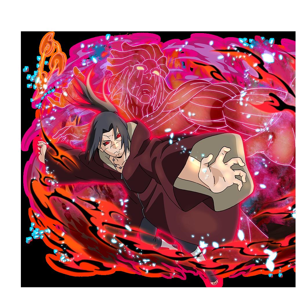 Itachi Uchiha  Amaterasu Susanoo Personagens de anime