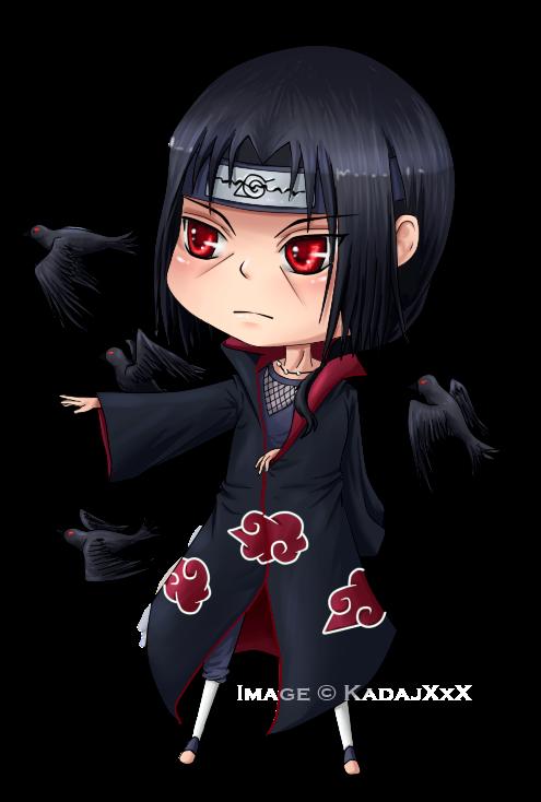 Chibi Itachi  Ravens by Jenova87 on DeviantArt