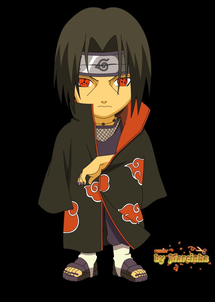 Chibi Itachi by marcinha20  Chibi Anime chibi Desenhos