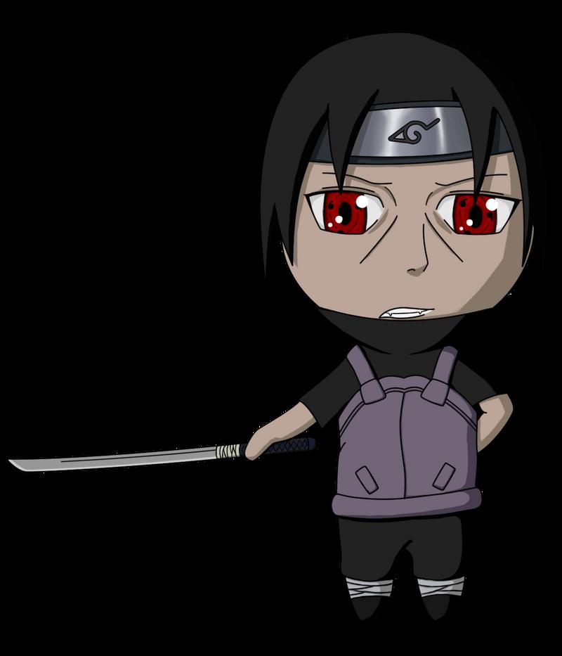Naruto  Itachi Anbu  Chibi by lilomat on DeviantArt