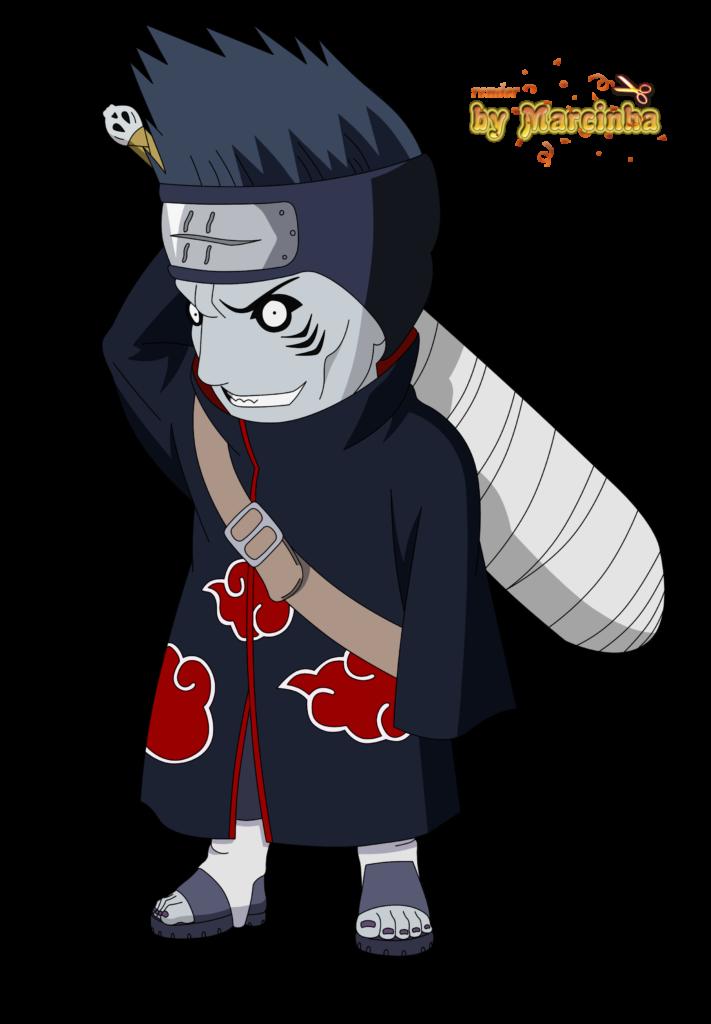 Render Chibi Kisame  Chibi naruto characters Sasuke