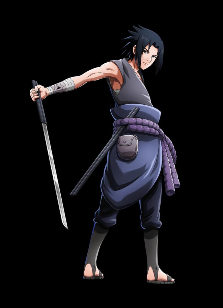 Sasuke vs itachi render NxB Ninja Voltage by