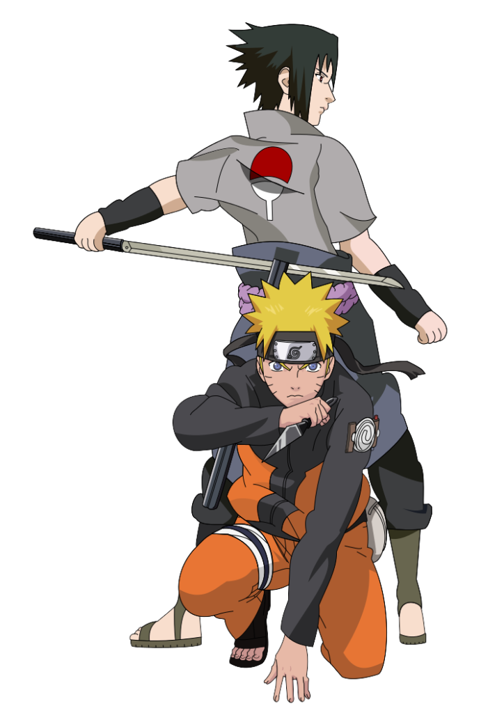 Naruto and Sasuke Shippuden by PkLucario on DeviantArt