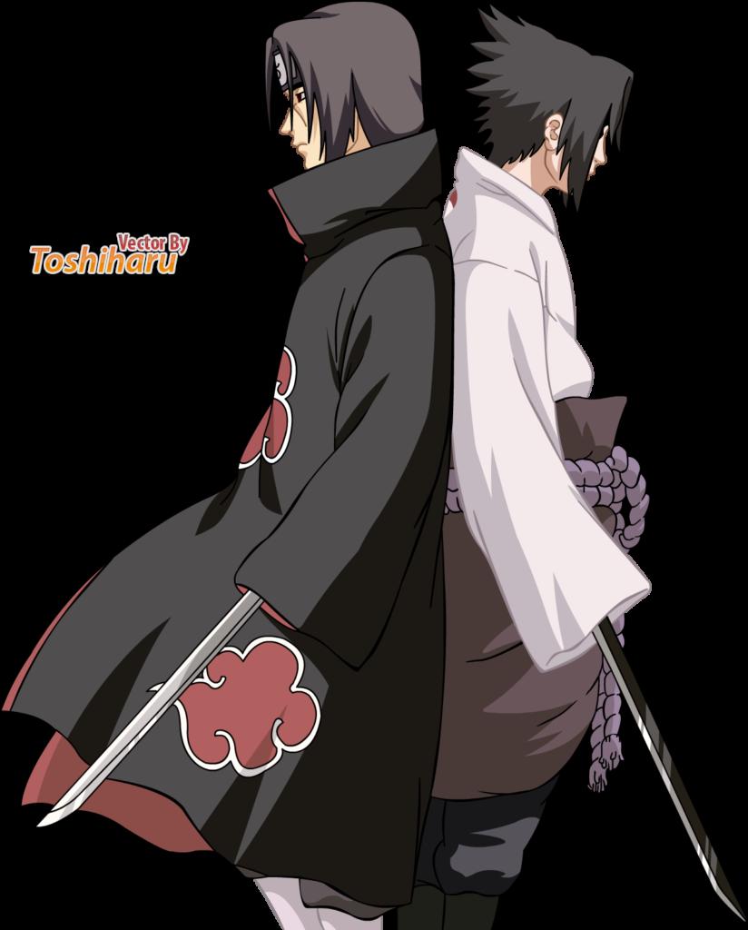 Uchiha Brothers  Itachi Anime mangas Sasuke