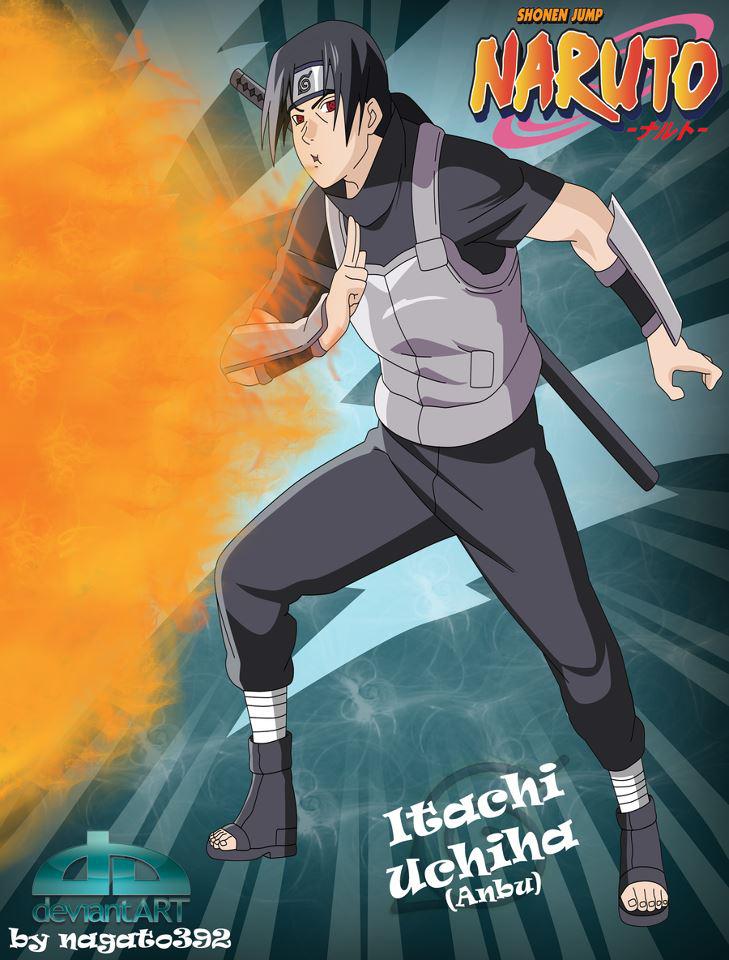 Itachi by itachi1998  Itachi Naruto Anime characters