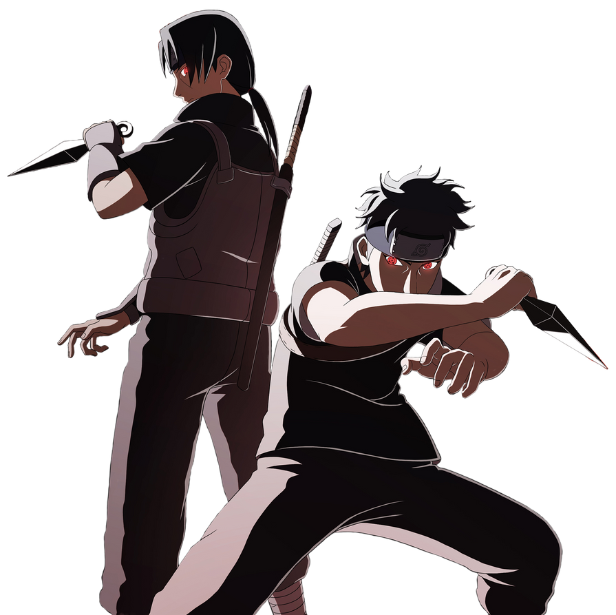 Itachi and Shisui Render by andonovmarko on DeviantArt