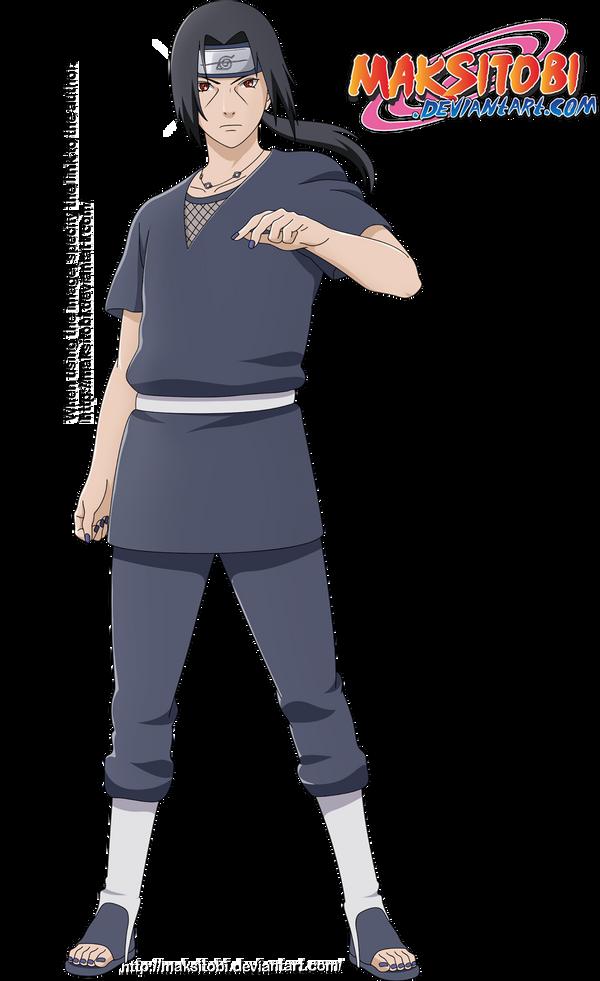 Itachi Uchiha by Epistafy on DeviantArt
