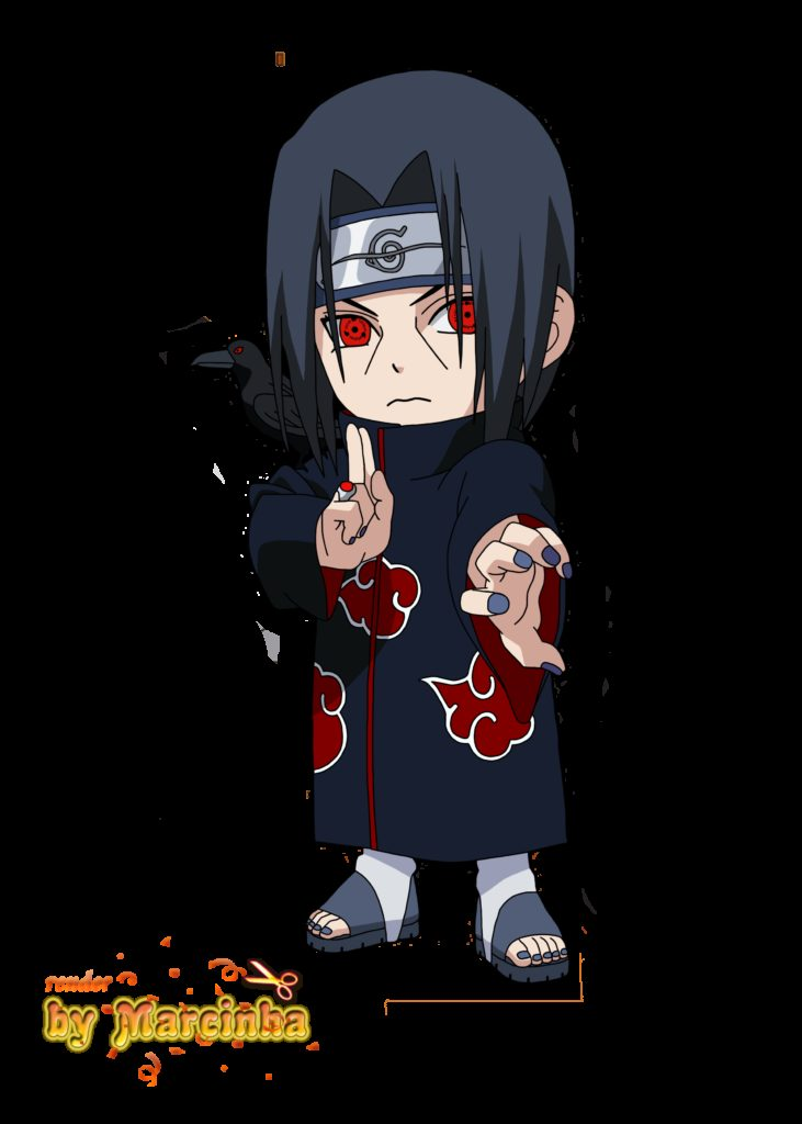 Chibi Itachi by marcinha20  anime  Pinterest  Naruto